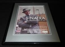 Frank Sinatra All or Nothing At All 2015 HBO 11x14 Framed ORIGINAL Advertisement