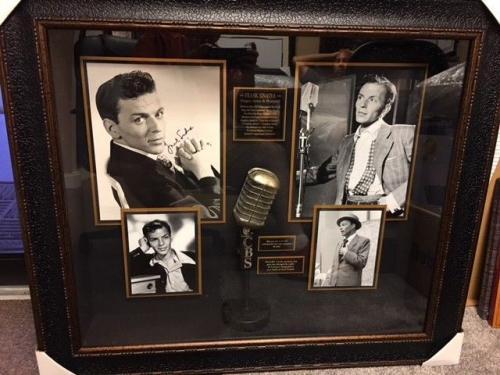 "Frank Sinatra ""Autographed"" (JSA) 11x14 Photo / Shadowbox (Rare)"