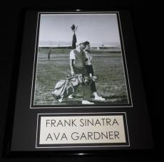 Frank Sinatra & Ava Gardner Golfing 11x14 Framed Photo Display