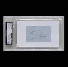 Frank Sinatra Cut Authentic Auto PSADNA Signed Autographed #83370117