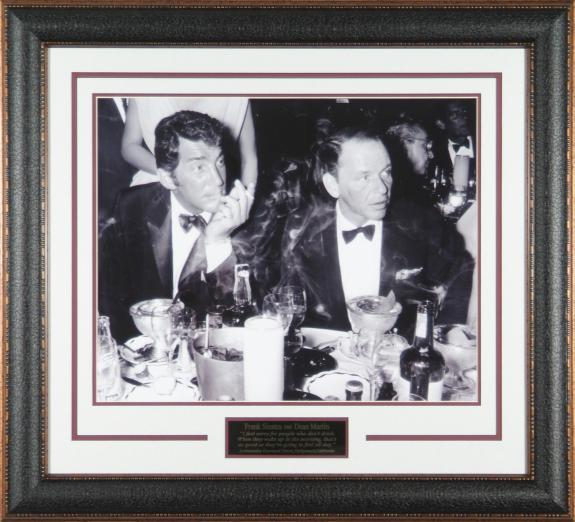"Frank Sinatra & Dean Martin ""Drinking"" 16x20 F"