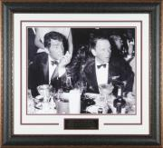"Frank Sinatra & Dean Martin ""Drinking"" – Framed Photo 16×20"