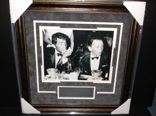 Frank Sinatra Dean Martin Framed 11x14 Photo Drinking Quote I feel sorry ...