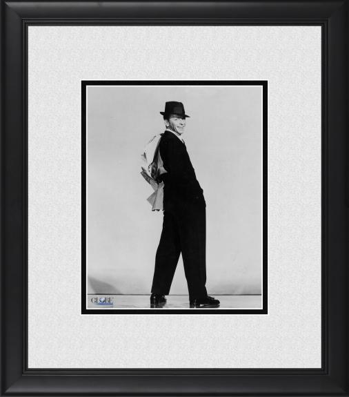 """Frank Sinatra Framed 8"""" x 10"""" Jacket Over Shoulder Photograph"""