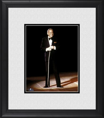 """Frank Sinatra Framed 8"""" x 10"""" Red Background Photograph"""