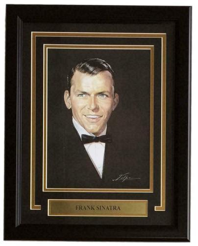 Frank Sinatra Framed 8x12 Art Print