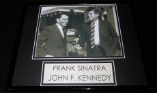 Frank Sinatra & JFK John F Kennedy Framed 11x14 Photo Display