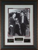 Frank Sinatra and JFK Laser Engraved 11x14 Signature Display
