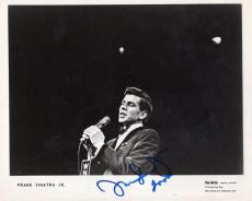 Frank Sinatra Jr. Deceased Singer Frank's Son Signed Autographed 8x10 Photo W/co