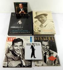 Frank Sinatra Lot ^ Treasures Box Set Metal Tin Box Set Book CD's Magazine