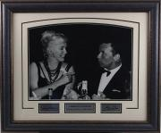 Frank Sinatra & Marilyn Monroe Framed 16x20 Photo with Laser Signatures