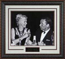 Frank Sinatra & Marilyn Monroe Laser Signed Framed 16x20