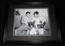 Frank Sinatra & Phil Rizzuto Framed 8x10 Photo Poster Yankees