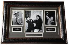 Frank Sinatra Rocky Marciano Heavy hitters framed 19x27 photo collage