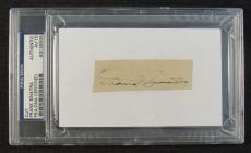Frank Sinatra Signed Auto Autograph Cut Signature PSA/DNA I