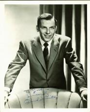 Frank Sinatra Signed Black & White 8X10 Photo Autographed JSA #Y34285