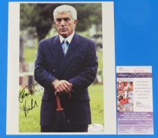 FRANK VINCENT SIGNED 8x10 PHOTO ~ JSA R78234 ~ Phil Leotardo THE SOPRANOS