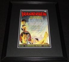Frankenstein Framed 11x14 Poster Display Official Repro Boris Karloff