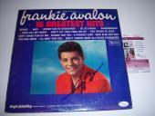 Frankie Avalon 15 Greatest Hits Jsa/coa Signed Lp Record Album