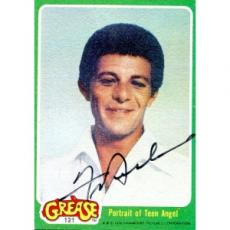 Frankie Avalon Autographed 1976 Grease Card