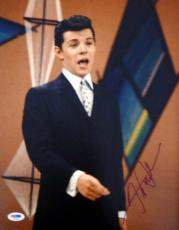 Frankie Avalon Autographed Signed 11x14 Photo PSA/DNA #T14515