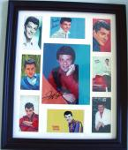 Frankie Avalon Autographed Signed Photo Display & Proof JSA AFTA AFTAL