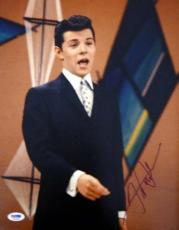 Frankie Avalon Certified Authentic Autographed Signed 11x14 Photo PSA/DNA