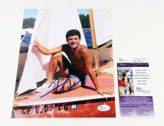 Frankie Avalon Signed 8 x 10 Color Photo Pose #2 JSA Auto