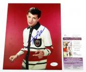 Frankie Avalon Signed 8 x 10 Color Photo Pose #3 JSA AUTO