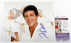 Frankie Avalon Signed 8 x 10 Color Photo Pose #5 JSA AUTO