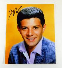Frankie Avalon Signed 8x10 Color Photo Pose #1 Auto