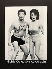 Frankie Avalon Signed 8x10 Photo Autograph Grease Back To The Beach Blanket