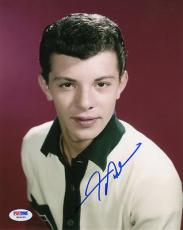 FRANKIE AVALON SIGNED AUTOGRAPHED 8x10 PHOTO VERY RARE PSA/DNA