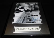 Frankie Avalon Signed Framed 11x14 Photo Display AW