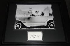Frankie Avalon Signed Framed 16x20 Photo Poster Display