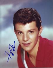 FRANKIE AVALON signed *GREASE* 8X10 photo W/COA #4