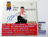 Frankie Avalon Signed LP Record Album A Whole Lotta Frankie w/ JSA AUTO
