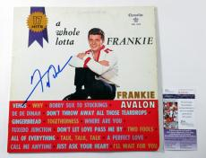 Frankie Avalon Signed LP Record Album A Whole Lotta Frankie w/ JSA AUTO