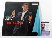 Frankie Avalon Signed LP Record Album ...and now about Mr. Avalon w/ JSA AUTO