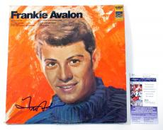 Frankie Avalon Signed LP Record Album Frankie Avalon w/ JSA AUTO
