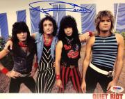 FRANKIE BANALI Hand Signed Quiet Riot Drummer 8x10 Photo PSA/DNA COA B