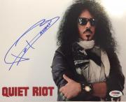 FRANKIE BANALI Hand Signed Quiet Riot Drummer 8x10 Photo PSA/DNA COA C