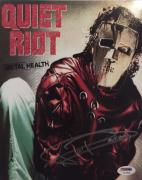FRANKIE BANALI Hand Signed Quiet Riot Drummer 8x10 Photo PSA/DNA COA E