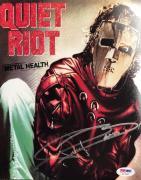FRANKIE BANALI Hand Signed Quiet Riot Drummer 8x10 Photo PSA/DNA COA F