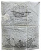 Franklin Pierce & Jefferson Davis Signed 13.75x17.25 1854 Military Document BAS