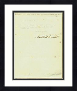 Franklin Roosevelt Signed 8x10.5 1929 State of NY Letter PSA #Y01687