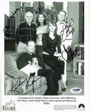Frasier (Kelsey Grammer, David Hyde Pierce +3) Signed 8X10 Photo PSA/DNA AB08247