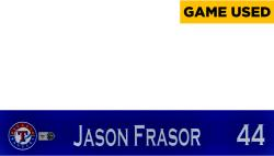 Jason Frasor Texas Rangers 2014 Opening Day Locker Nameplate - Mounted Memories  - Mounted Memories
