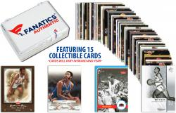 Walt Frazier -New York Knicks- Collectible Lot of 15 NBA Trading Cards - Mounted Memories
