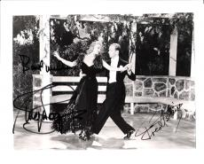 FRED ASTAIRE and GINGER ROGERS - Signed by Both - They did 10 Movies Together (FRED Passed Away in 1987 and GINGER in 1995)  10x8 B/W Photo